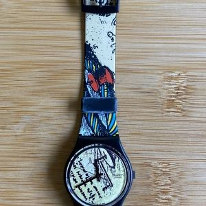 Swatch Accessories - NWT VINTAGE 1991 Swatch Watch Engineer